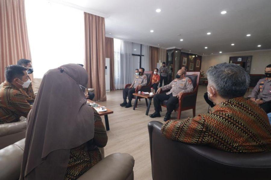 Kapolda Kepri Bersama PHRI BPD Kepri Gelar Audensi dan Silaturahmi