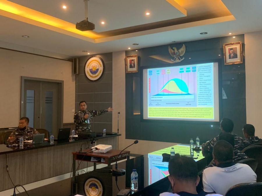 RKU Lantamal IV Tanjungpinang Terima Sosialisasi Tentang Artifical Intelegence