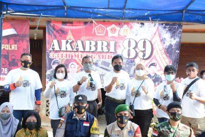 Perayaan Pengabdian 33 Tahun, AKABRI 89 Gelar Off-road dan Baksos di Bintan